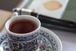 tea writing